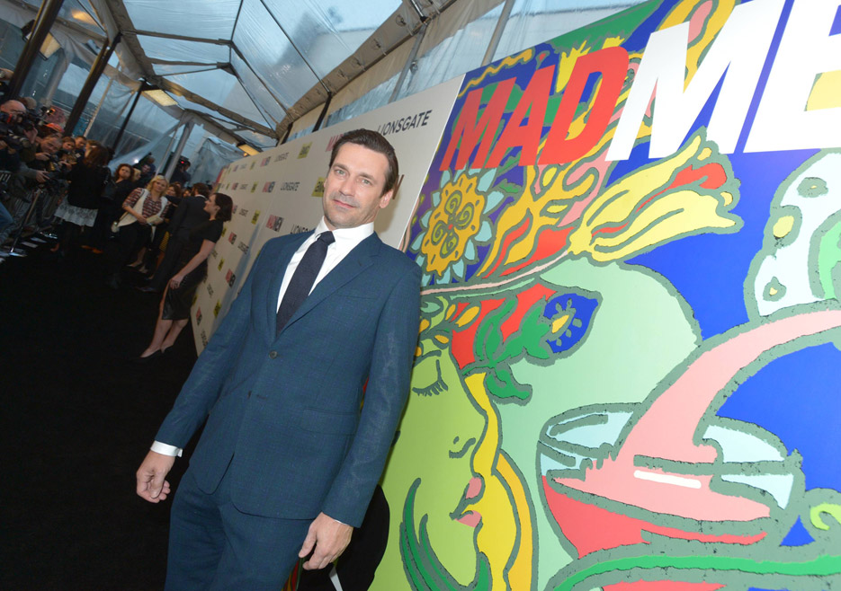 Jon Hamm (Don Draper) of Mad Men