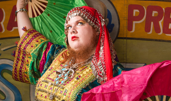 <em>Freakshow</em> Q&#038;A &#8211; Jessa the Bearded Lady