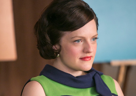 Peggy Olson (Elisabeth Moss) in Episode 7 on Mad Men