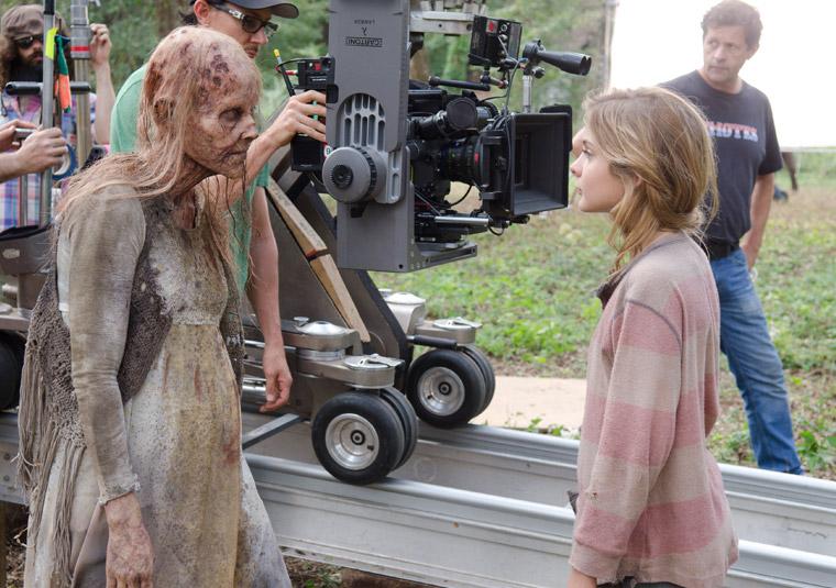 The Walking Dead Season 4 Behind the Scenes Photos