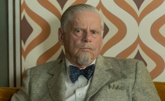 Bert Cooper (Robert Morse) on Mad Men
