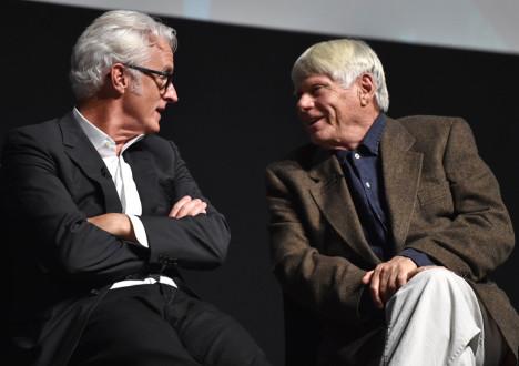 John Slattery (Roger Sterling) and Robert Morse (Bert Cooper) from Mad Men