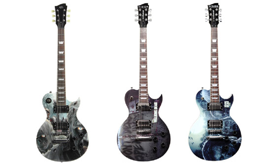 AMC Teams Up With Artist Series Guitar to Offer Exclusive <em>The Walking Dead</em> Collection
