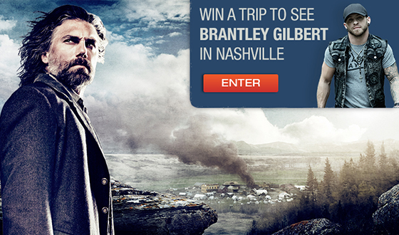 Enter <em>Hell on Wheels</em>&#8216; Throwdown Sweepstakes for a Chance to Meet Brantley Gilbert