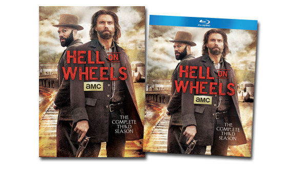 <em>Hell on Wheels: The Complete Third Season</em> Now Available on DVD and Blu-ray