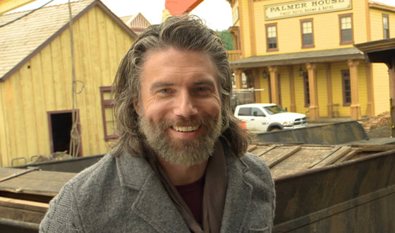 Video &#8211; <em>Hell on Wheels</em> Cheyenne Set Tour With Anson Mount