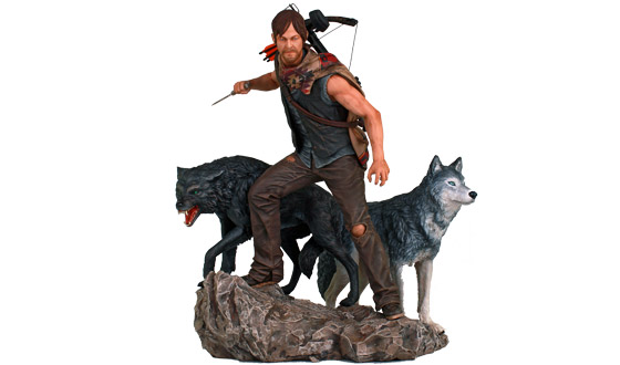 Limited Edition <em>The Walking Dead</em> Daryl Dixon Wolf Statue Now Available for Pre-Order