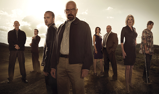 <em>Breaking Bad</em> Wins Five Primetime Emmy Awards, Including Outstanding Drama Series