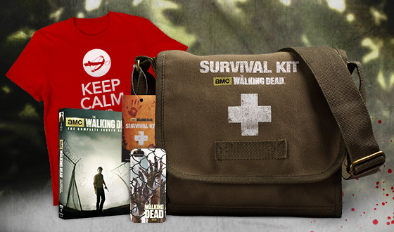 Get Ready for Season 5 With a <em>The Walking Dead</em> Emergency Preparedness Month Survival Bundle
