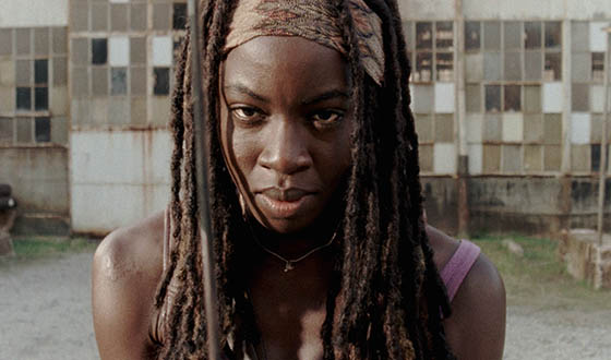 Video – On the Season 5 Set With Danai Gurira