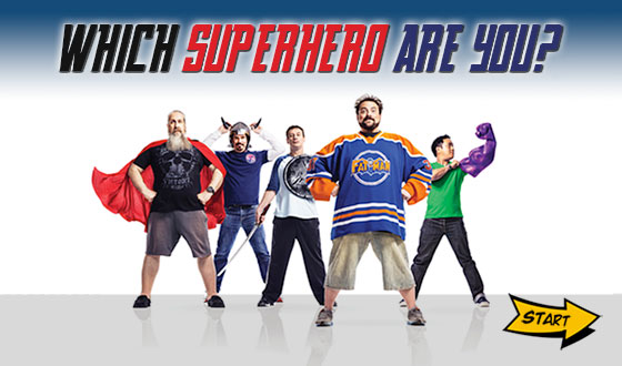 Which Superhero Are You? Find Out With This <em>Comic Book Men</em> Game