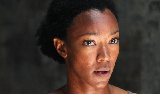 <em>The Walking Dead</em> Q&#038;A – Sonequa Martin-Green (Sasha)