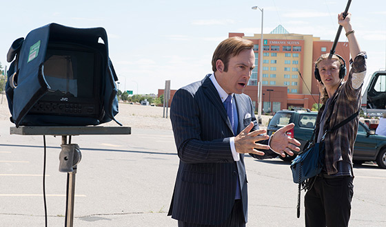 Video &#8211; Greeting From the <em>Better Call Saul</em> Set
