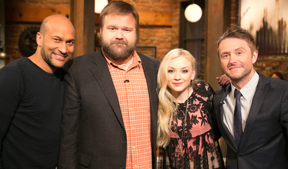 Video – <em>Talking Dead</em> Episode 508 Highlights and Bonus Scene Featuring Emily Kinney (Beth) and Robert Kirkman