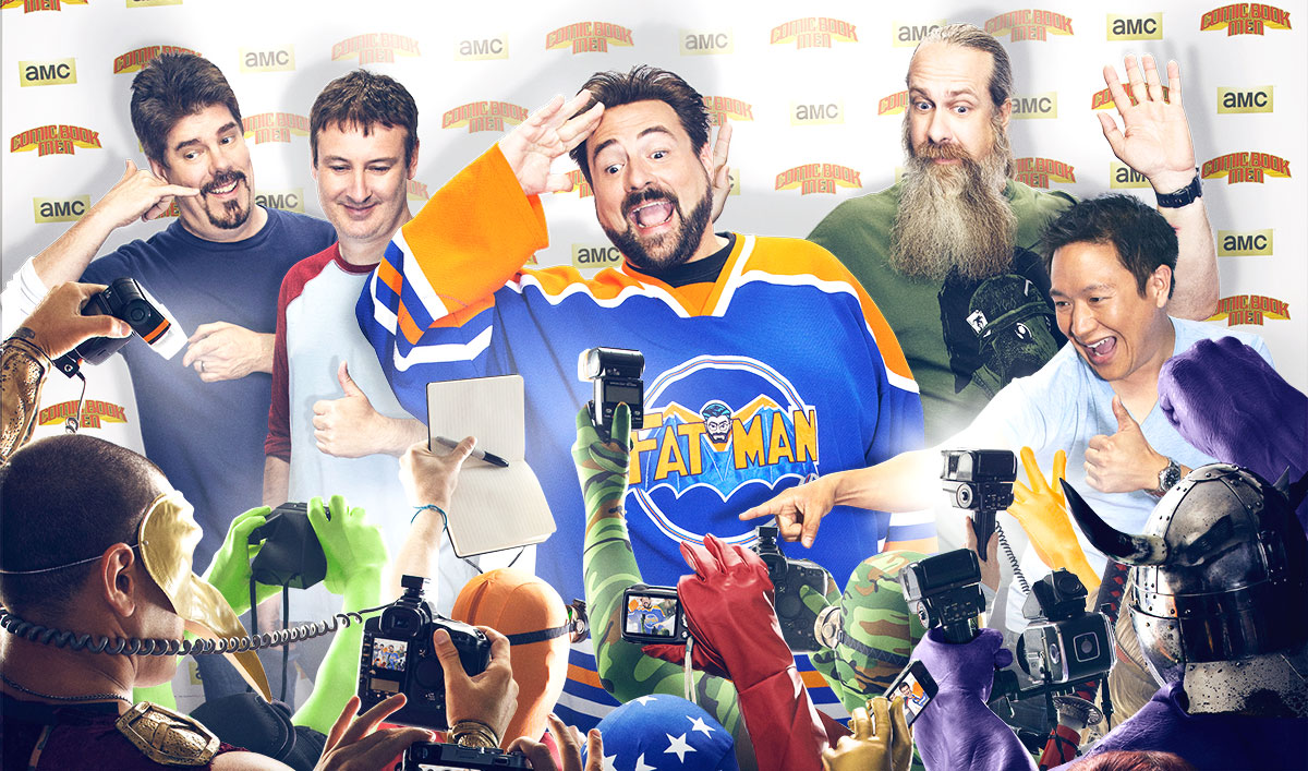 New <em>Comic Book Men</em> Poster and Midseason Premiere Date Revealed