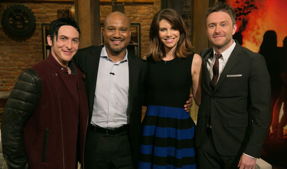 Video – <em>Talking Dead</em> Episode 510 Highlights and Bonus Scene Featuring Seth Gilliam and Lauren Cohan
