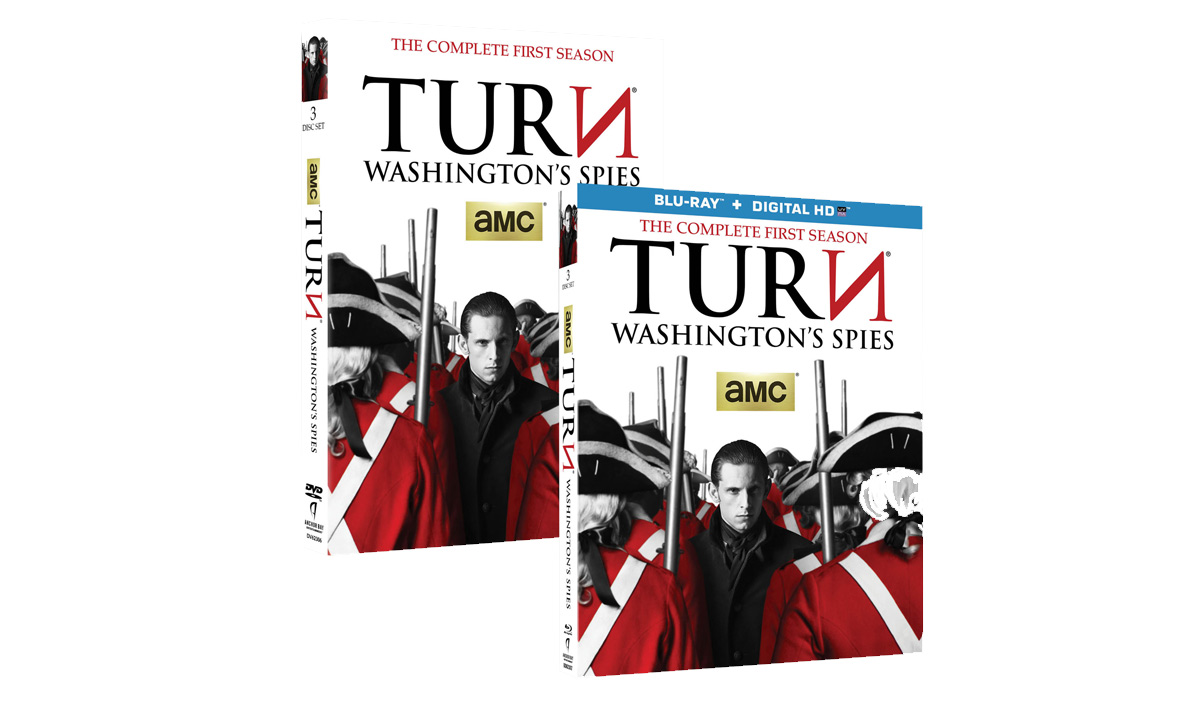 <em>TURN: Washington&#8217;s Spies: The Complete First Season</em> Now Available on DVD and Blu-ray
