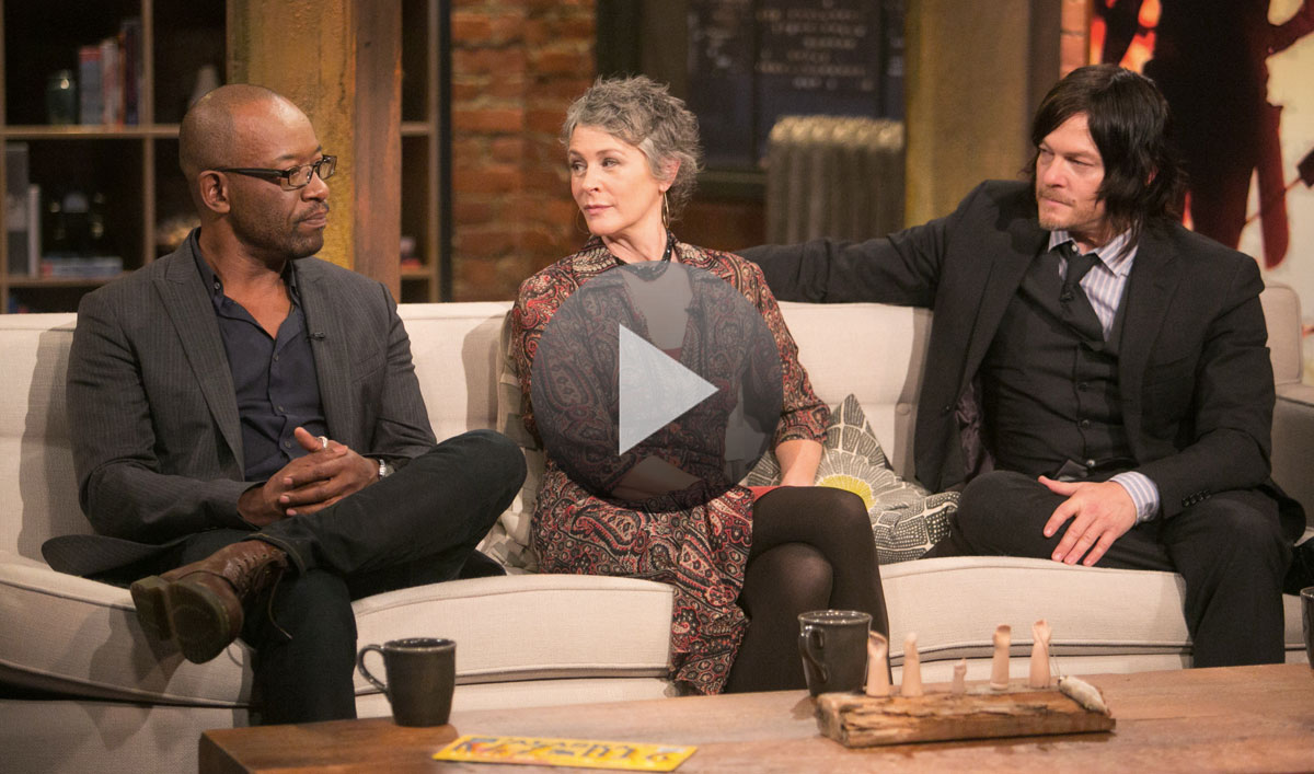 Video – <em>Talking Dead</em> Episode 516 Highlights and Bonus Scene Featuring Lennie James, Norman Reedus and Melissa McBride