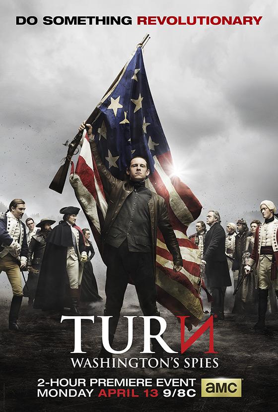 TURN: Washington's Spies Season 2 Poster
