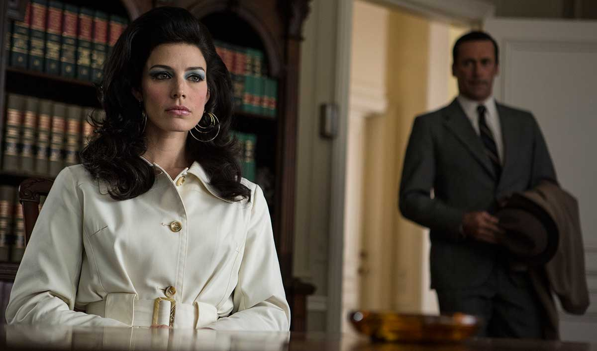 Jessica Paré Talks Megan, Don & Million Bucks; Elizabeth Reaser Speaks to Diana's Mystery