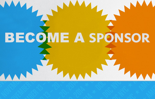 Become a Sponsor of DOC NYC 2014!