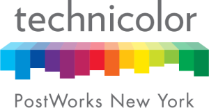 Technicolor-Post Works Logo - Color Positive