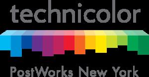 Technicolor-Post Works Logo - Color Positive