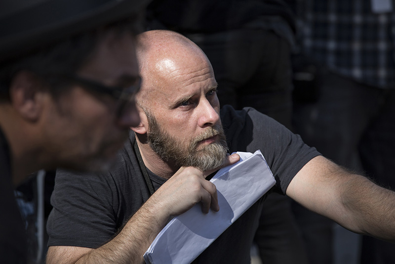 Executive Producer/Showrunner Dave Erickson - Fear the Walking Dead _ Season 1, Episode 1 - Photo Credit: Justin Lubin/AMC
