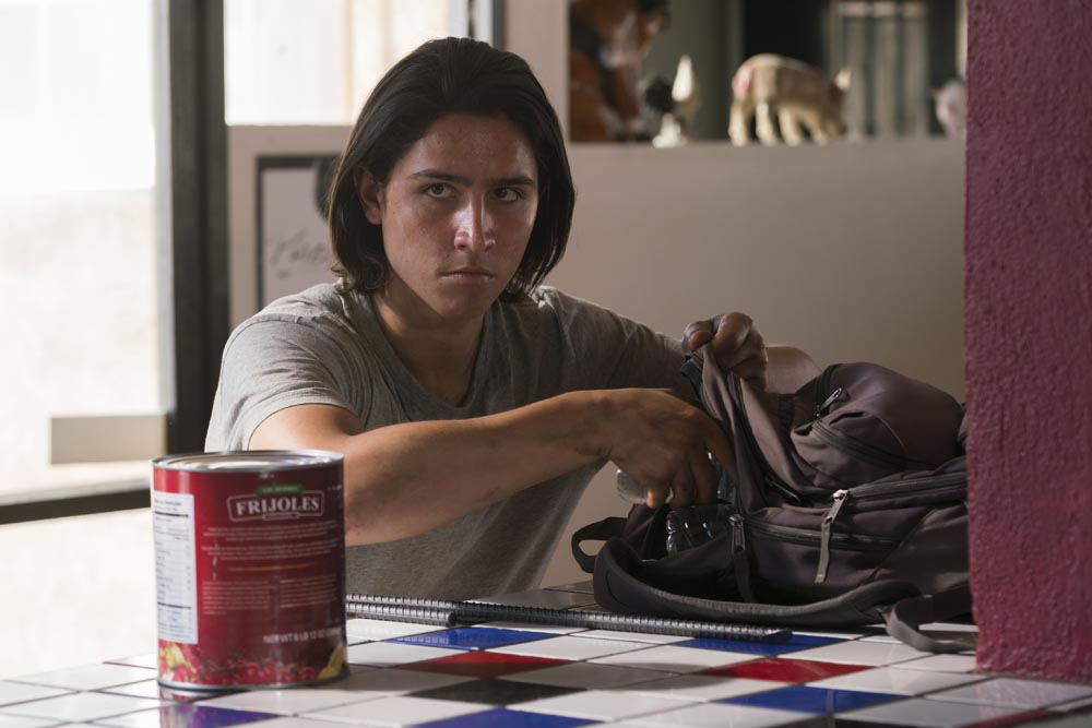 Lorenzo James Henrie as Chris Manawa - Fear The Walking Dead _ Season 2, Episode 10 - Photo Credit: Richard Foreman Jr/AMC