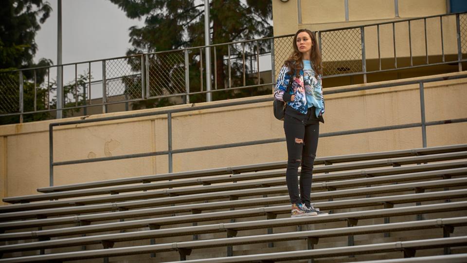 Alicia Clark (Alycia Debnam-Carey) en Episodio 1 / Photo by Justin Lubin/AMC