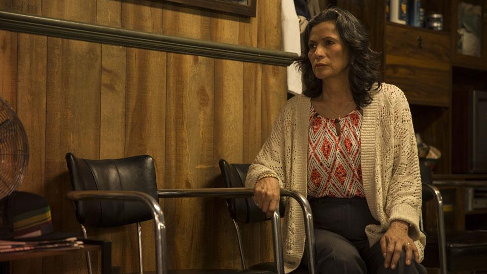 Griselda Salazar (Patricia Reyes Spíndola) en Episodio 2 / Photo by Justina Mintz/AMC