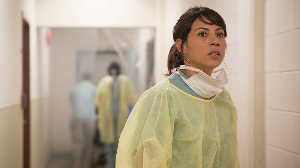 Liza Ortiz (Elizabeth Rodriguez) en Episodio 5 / Photo by Justina Mintz/AMC