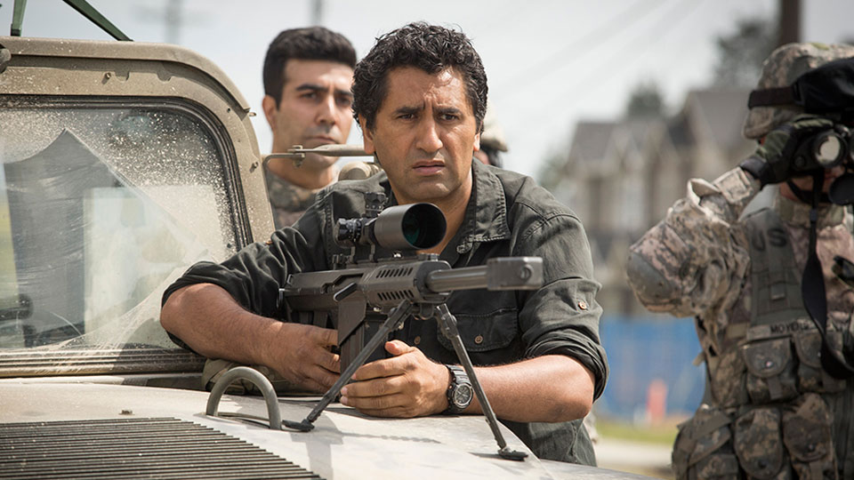 Travis Manawa (Cliff Curtis) en Episodio 5 / Photo by Justina Mintz/AMC