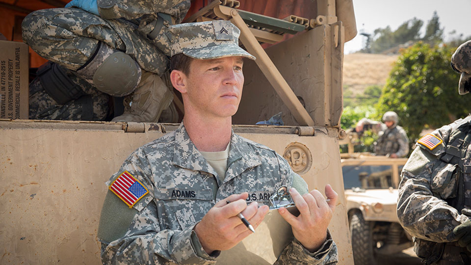 Corporal Andrew Adams (Shawn Hatosy) en Episodio 4 /  Photo by Justina Mintz/AMC