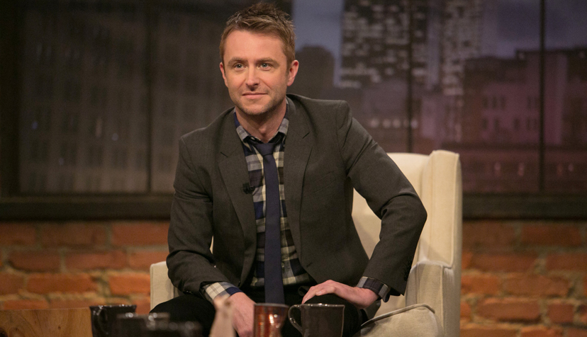 Chris Hardwick - Talking Dead _ Season 4, Episode 5 - Photo Credit: Jordin Althaus/AMC
