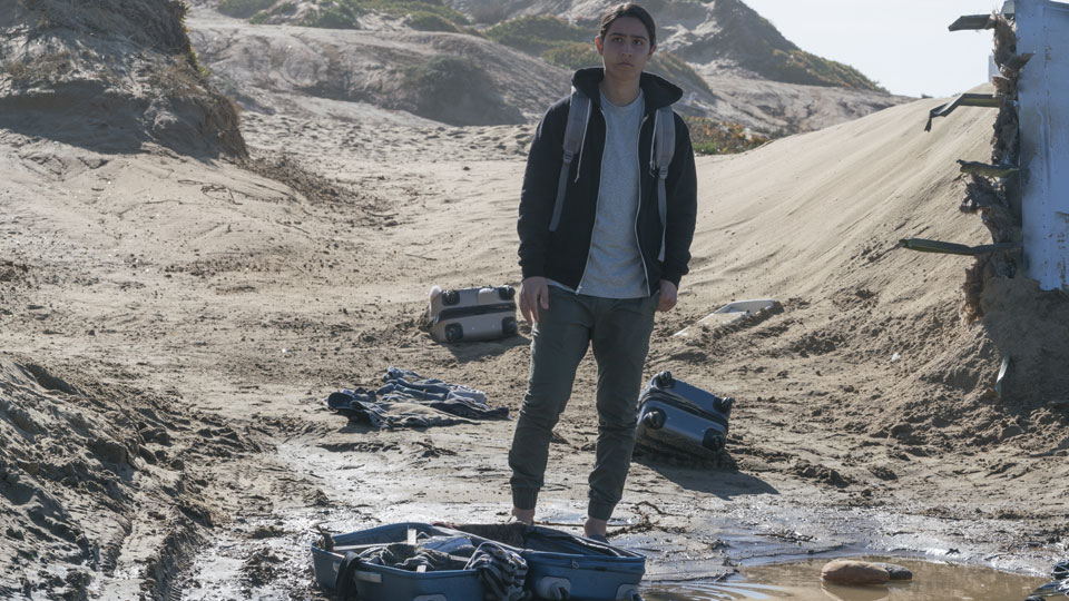 Christopher Manawa (Lorenzo James Henrie) en Episodio 3 Photo by Richard Foreman/AMC