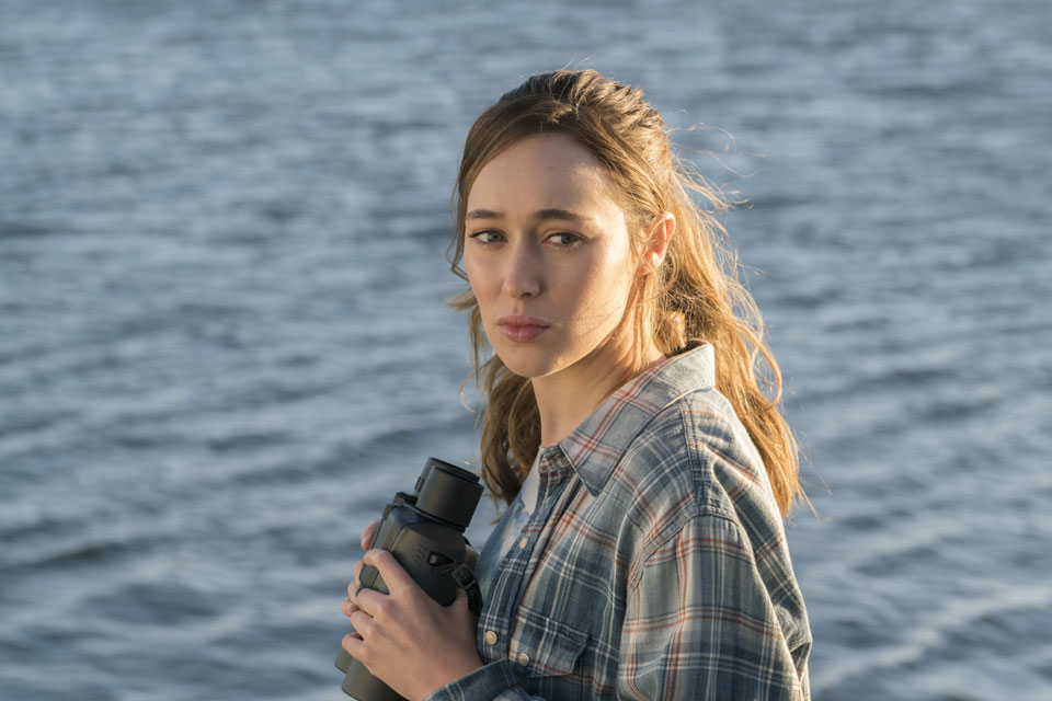 Alicia Clark (Alycia Debnam-Carey) in Episode 1 Photo by Richard Foreman/AMC