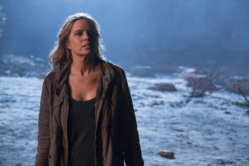 Madison Clark (Kim Dickens) in Episode 1 Photo by Richard Foreman/AMC