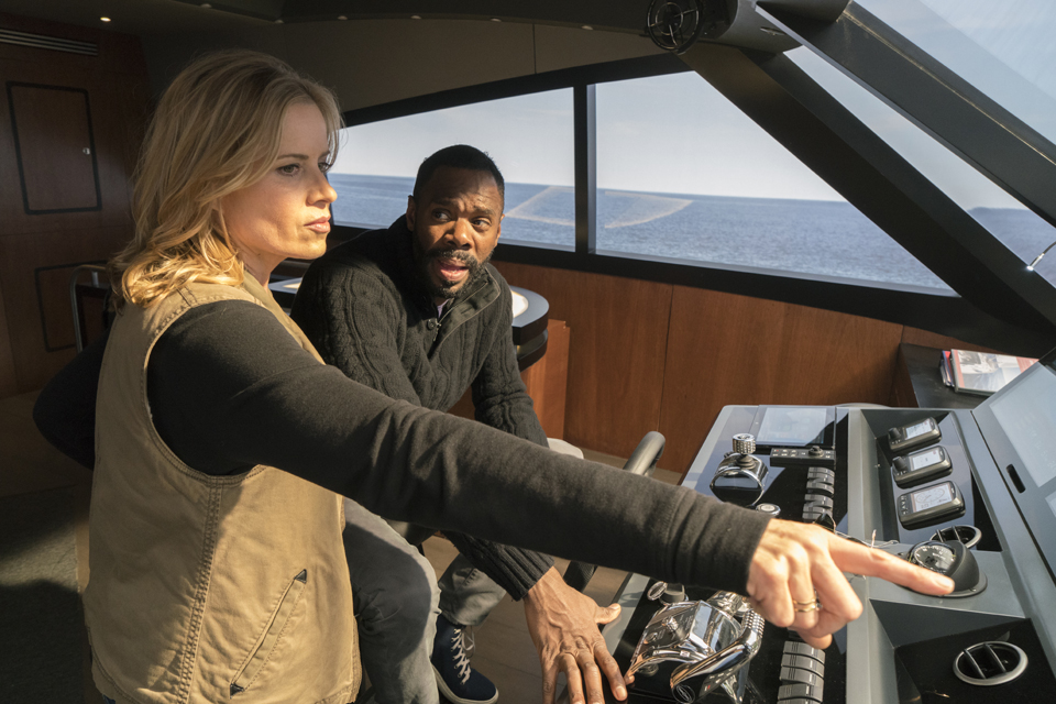 Madison Clark (Kim Dickens) and Victor Strand (Colman Domingo) in Episode 1 Photo by Richard Foreman/AMC