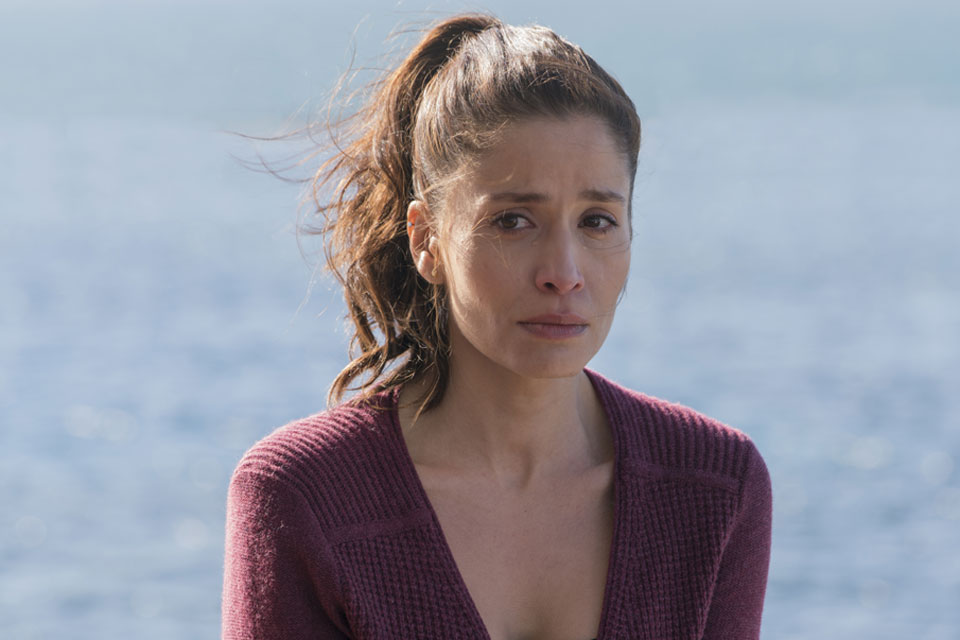 Ofelia Salazar (Mercedes Mason) in Episode 1 Photo by Richard Foreman/AMC