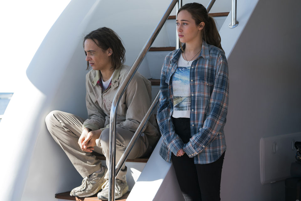 Nick Clark (Frank Dillane) and Alicia Clark (Alycia Debnam-Carey) in Episode 1 Photo by Richard Foreman/AMC
