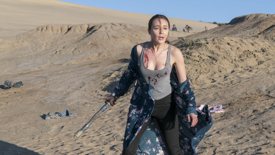 Alicia Clark (Alycia Debnam-Carey) en Episodio 3 Photo by Richard Foreman/AMC