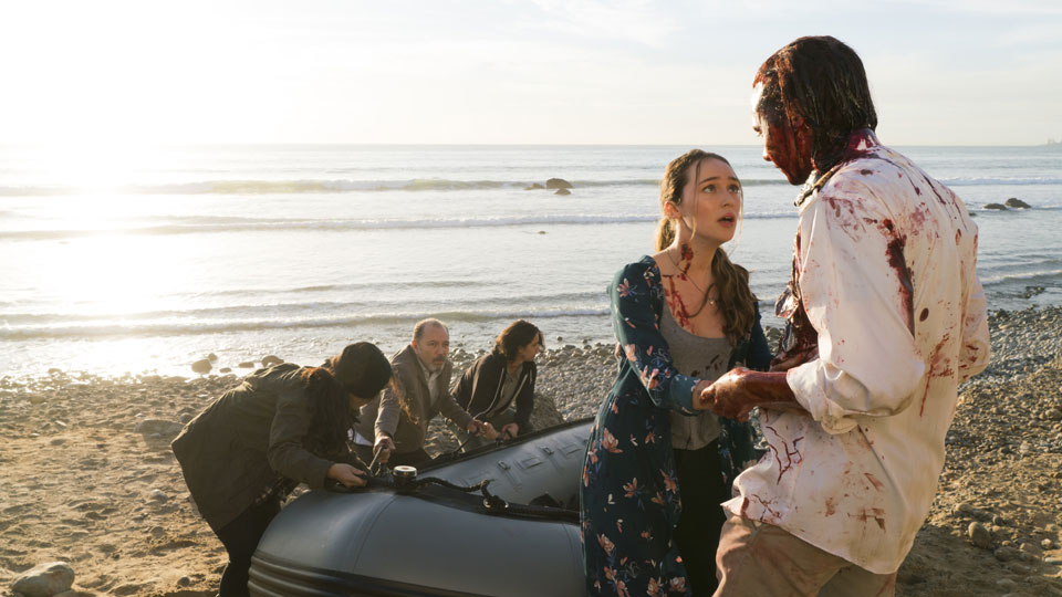 Alicia Clark (Alycia Debnam-Carey)  y Nick Clark (Frank Dillane) en Episodio 3 Photo by Richard Foreman/AMC
