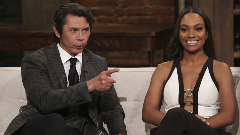 Lou Diamond Phillips y Lyndie Greenwood