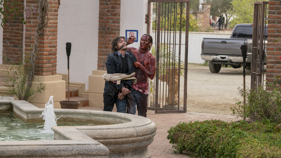 Nick Clark (Frank Dillane) en Episodio 7 Photo by Richard Foreman/AMC