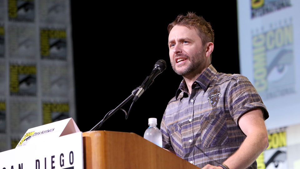 SAN DIEGO, CA - JULY 22: Moderator Chris Hardwick attends AMC's