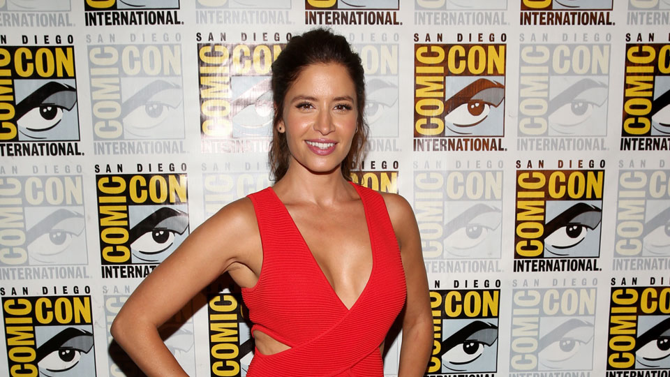 SAN DIEGO, CA - JULY 22: Actress Mercedes Masohn attends AMC's 'Fear The Walking Dead' Panel during Comic-Con International 2016 at San Diego Convention Center on July 22, 2016 in San Diego, California. (Photo by Jesse Grant/Getty Images for AMC)