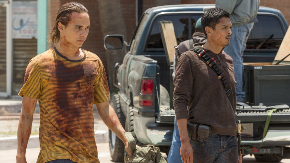 Nick Clark (Frank Dillane) en Episodio 14  Photo by Richard Foreman/AMC