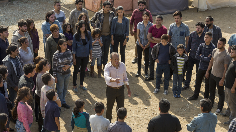 Paul Calderon as Alejandro, Colonia Residents - Fear the Walking Dead _ Season 2, Episode 15 - Photo Credit: Peter Iovino/AMC