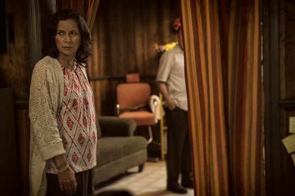 Patricia Reyes Spíndola as Griselda Salazar - Fear The Walking Dead _ Season 1, Episode 2 - Photo Credit: Justina Mintz/AMC